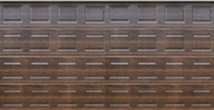 Absosteel - Block - DARK OAK - Textured Finish - Double Door