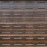 Absosteel - Block - DARK OAK - Textured Finish - Single Door