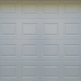 Absosteel - Block - WHITE - Textured Finish - Single Door