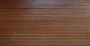 Absosteel - STRIPE STYLE - GOLDEN OAK - Textured Finish - Double Door