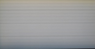 Absosteel - Stripe Style - WHITE - Textured and Smooth Finish - Double Door