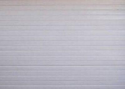 Alu-Zinc Double Stripe Style White