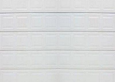 Alu-Zinc Single Block White