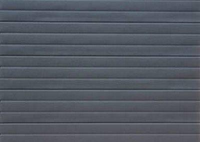 Alu-Zinc Single Stripe Style Charcoal