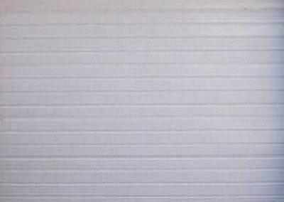 Alu-Zinc Single Stripe Style White