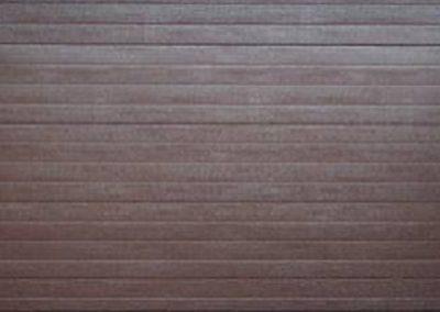 Alu-Zink Double Stripe Style Brown
