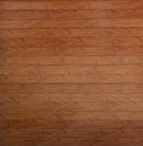 Aluminium - Smooth Finish - Wood Look - Single