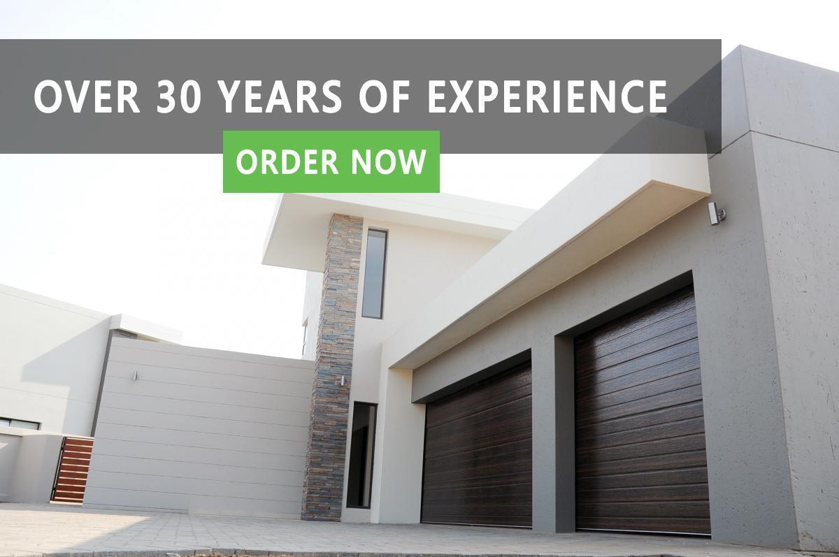 garage doors home banner